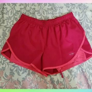 CHAMPION C9 Women's Size M Layered Athletic Shorts